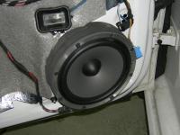 Установка акустики Focal Polyglass 165 V1 в Volkswagen Polo V