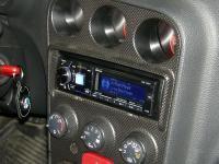 Фотография установки магнитолы Alpine CDE-178BT в Alfa Romeo 156