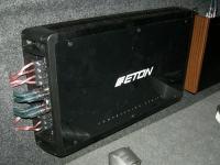 Установка усилителя Eton ECC 500.4 в Toyota Hilux