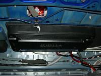 Установка усилителя Audison SR 4 в Honda Accord 8