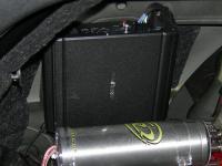 Установка усилителя Alpine MRV-M250 в Audi A4 (B8)