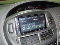 Фотография установки магнитолы Sony XAV-E70BT в Toyota Estima