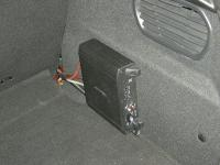 Установка усилителя Alpine MRV-M250 в Peugeot 208