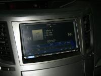 Фотография установки магнитолы Alpine ICS-X8 в Subaru Outback (BR)