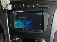 Фотография установки магнитолы Pioneer AVH-X4500DVD в Ford Mondeo 4 (Mk IV)