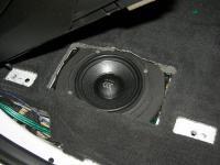 Установка акустики Morel Virtus 603 в BMW X6 (E71)