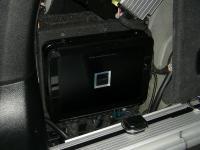 Установка усилителя Alpine PDX-V9 в BMW X6 (E71)