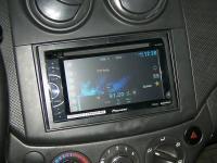 Фотография установки магнитолы Pioneer AVH-X1500DVD в Chevrolet Aveo T250