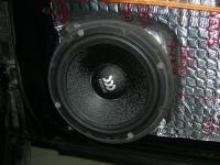 Установка акустики Morel Maximo 6 в Chevrolet Lacetti