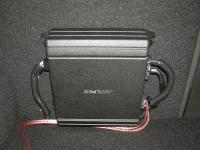 Установка усилителя Alpine MRV-M250 в Opel Astra J GTC