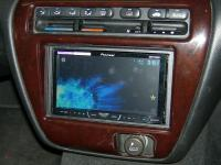 Фотография установки магнитолы Pioneer AVH-X4500DVD в Honda Prelude