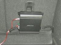 Установка усилителя Alpine MRV-M250 в Mazda 3 (II)