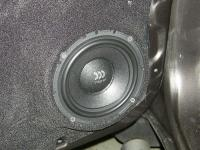 Установка акустики Morel Virtus 602 в Mitsubishi Pajero Sport