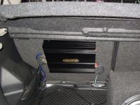 Установка усилителя DLS CA450i в Nissan Note