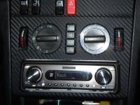 Фотография установки магнитолы Pioneer DEH-P77MP в Mercedes C class