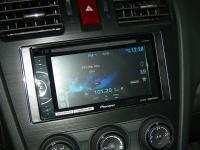 Фотография установки магнитолы Pioneer AVH-X1500DVD в Subaru XV