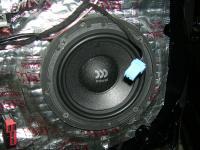 Установка акустики Morel Virtus 602 в Jaguar XF