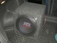 Установка сабвуфера MTX RT10-04 box в Chevrolet Lacetti