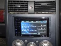 Фотография установки магнитолы Pioneer AVH-P3100DVD в Mitsubishi Galant