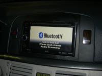 Фотография установки магнитолы JVC KW-AV61BTEE в Hyundai NF Sonata