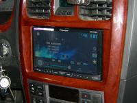 Фотография установки магнитолы Pioneer AVH-X4500DVD в Hyundai Sonata