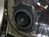 Установка акустики Audison AV K6 в Toyota Highlander