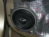 Установка акустики Audison AV X6.5 в Toyota Highlander