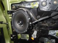 Установка акустики DLS 257 в Ford Fiesta