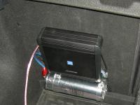 Установка усилителя Alpine MRV-M500 в Hyundai i30