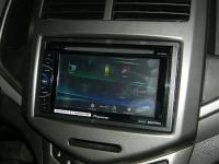 Фотография установки магнитолы Pioneer AVH-X1600DVD в Chevrolet Aveo T300