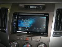 Фотография установки магнитолы Pioneer AVH-X1600DVD в Hyundai Sonata