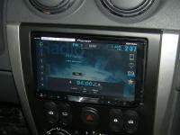 Фотография установки магнитолы Pioneer AVH-X8500BT в Nissan Almera III (G15)