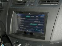 Фотография установки магнитолы JVC KW-AV71BTEE в Mazda 3 (II)