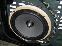 Установка акустики Focal Integration ISS 165 в Opel Insignia