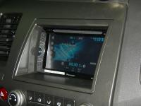 Фотография установки магнитолы Pioneer AVH-X1600DVD в Honda Civic 4D