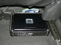 Установка усилителя Alpine PDX-V9 в Mazda CX-5