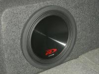Установка сабвуфера Alpine SWR-12D4 в Mitsubishi Pajero Sport