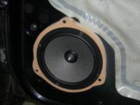Установка акустики Focal Integration ISS 165 в Nissan Almera Classic