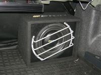 Установка сабвуфера Eton Force 10-600 G в Toyota Corolla XI