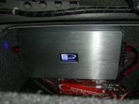 Установка усилителя Kicx QS 1.600 в Honda Accord