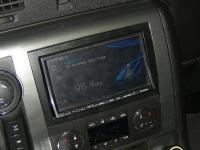 Фотография установки магнитолы Alpine INA-W910R в Hummer H2