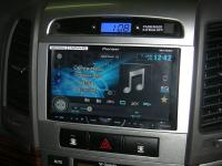 Фотография установки магнитолы Pioneer AVH-X4600DVD в Hyundai Santa Fe (II)