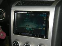 Фотография установки магнитолы Pioneer AVH-X8500BT в Nissan Murano