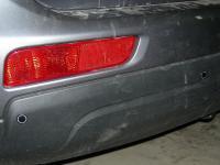 Установка Parkcity Ultra Slim в Mitsubishi Outlander III