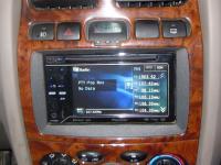Фотография установки магнитолы Pioneer AVH-P3200BT в Hyundai Santa Fe