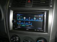 Фотография установки магнитолы JVC KW-AV61BTEE в Toyota Corolla X