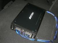 Установка усилителя Eton ECC 500.4 в Citroen C4