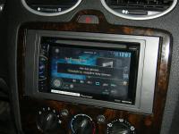 Фотография установки магнитолы Pioneer AVH-X1600DVD в Ford Focus 2