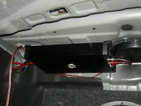 Установка усилителя DLS XM10 в Hyundai NF Sonata