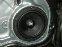 Установка акустики Morel Maximo 6 в KIA Ceed